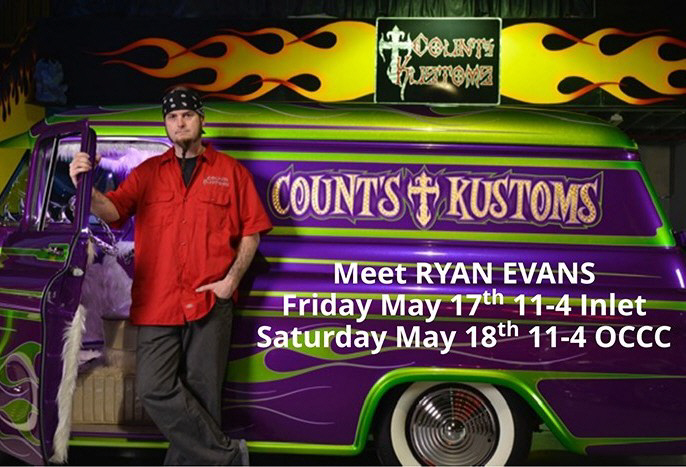 Counting Cars Ryan Evans at 29th annual Cruisin' Ocean City May 16-19